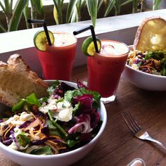 Bali cafe Zucchini - great salads & fresh juices