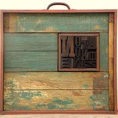 #fredericohertado #mixedmedia #assemblage #sculpture #typography #woodarts #artcollective #contemporaryart