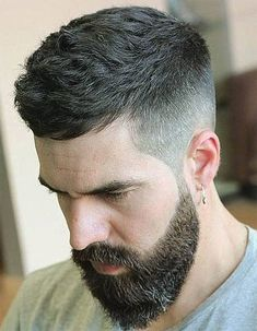 40 Trendy Caesar Haircuts for Men [Recommended by Top Barbers] – Men's Hairstyles and Beard Models Mens Hairstyles With Beard, Cool Hairstyles For Men, Men's Hairstyles, Trendy Haircuts For Men, Short Hair Hairstyle Men, Young Men Haircuts, Hipster Hairstyles Men, Popular Mens Haircuts, Mens Hairstyles 2018