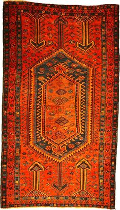 5 3 x 9 4 Red Shiraz-Lori Persian Rugs Persian Carpet, Persian Rug, Iranian Rugs, Teal Rug, Textiles, Magic Carpet, Versace Home, Contemporary Rugs, Diy Home