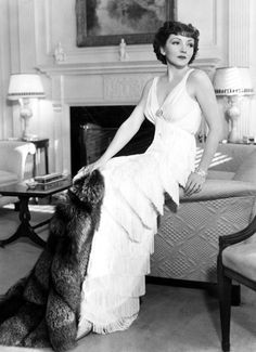 """Claudette Colbert ~ After the completion of For the Love of Mike (1927), Colbert told one and all, """"I shall never make another film"""".  jαɢlαdy"""