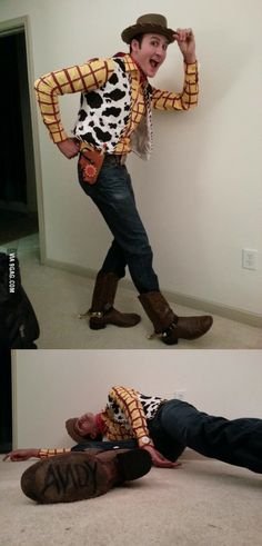 Amazing Woody Cosplay! Can I date this guy? Because this is just awesome.