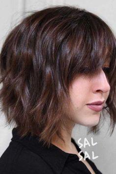 Best Bob Haircut Ideas To Try Right Now ★ Bob Hairstyles For Thick, Long Bob Haircuts, Hairstyles Haircuts, Medium Hair Styles, Short Hair Styles, Bob Styles, Bob Haircut With Bangs, Trending Haircuts, Short Hair Cuts