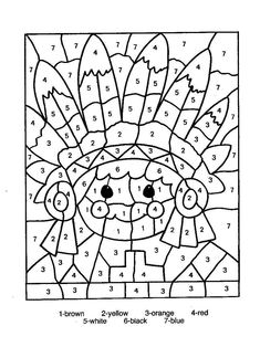 number coloring pages, printable number coloring pages, free number coloring pages online, number coloring pages for adults, teenagers, kids sheets