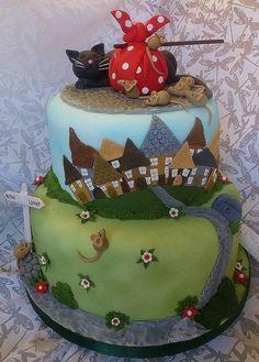 Dick Whittington Panto cake - Cake by Extra Mile Icing