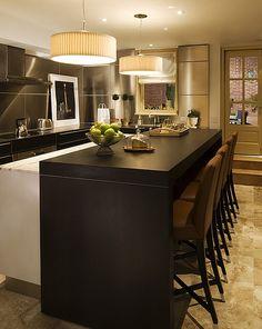 sleek! #kitchens