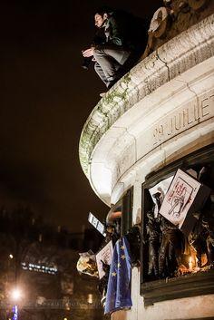 JE SUIS CHARLIE, NOUS SOMMES TOUS CHARLIE  07/01/2015 Place de la République Paris / France + MARCHE / RASSEMBLEMENT 11/01/2015  by Sandie Besso Photography for any booking, professional & artistic shootings contact me : sandie.besso@gmail.com Paris / France