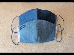 How to sew a reusable medical mask Sewing Stitches, Sewing Patterns, Crochet Patterns, Sewing Tutorials, Sewing Hacks, Sewing Projects, Easy Face Masks, Diy Face Mask, Mouth Mask Fashion