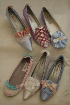 Marie Antoinette inspired shoes - gorgeous, right??