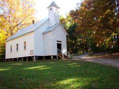 cades cove gatlinburg | ... Baptist Church - Cades Cove - Great Smoky Mountains National Park