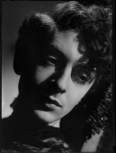 Quentin Crisp as a young lad.