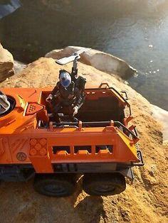 CUSTOM Hasbro GI Joe Cobra Adventure Team Battle Truck Free Shipping!   | eBay