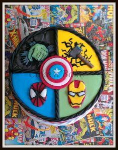 Superhero - Avengers cake