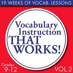 Welcome to Words on Wednesday, a weekly lesson to build higher-level vocabulary in your college-bound students. These weekly lessons feature words commonly used on the SAT that educated adults also use in their everyday lives. Even if your students arent bound for a university, theyll still benefit from knowing these words as they enter the work force.Each lesson, which takes about 15 minutes, goes deep into understanding denotation and connotation of five separate words and includes…