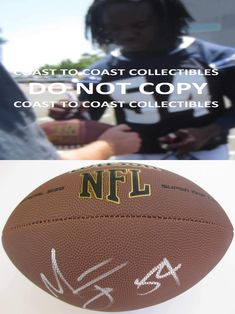1f5a99ab7 Melvin Ingram, Los Angeles Chargers, LA Chargers, Signed, Autographed, NFL  Football, a COA with the Proof Photo of Melvin Signing Will Be Included