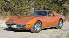 1972 Chevrolet Corvette Coupe 350 CI, Factory Air presented as lot T138. #Mecum #Houston #cars