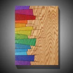 Items similar to Drinking the Kool-Aid: Original Abstract Art on Red Oak Panel - Colored with Prismacolor Pencils - x on Etsy Plywood Art, Bookmarks For Books, Oak Panels, 3d Wall Art, Geometric Art, Pyrography, Wood Paneling, E Design, Paper Art