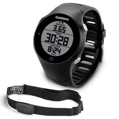 Garmin Forerunner 610 GPS watch with Heart Rate Monitor