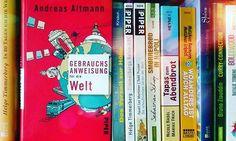 Ich habe die Gebrauchsanweisung für die Welt zu Ende gelesen und kann sie einsortieren. Es hat mir sehr gut gefallen. Neue und provokante Gedankengänge. Werde sicher noch mehr Bücher von ihm lesen.  #reisen #travel #andreasaltmann #buch #bücher