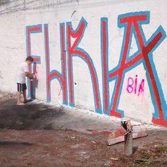 Grapixo   #kauê #filho #furioso #mãedemenino #amor #tinta #parede #muros #sp #pixaçao #pichação #streetart #urbanart #vandalism #2016