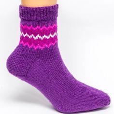 Anklet Border Socks by byhandbyjean on Etsy