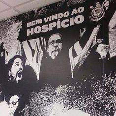Sport Club Corinthians Paulista |  #ArenaCorinthians #Corinthians #VaiCorinthians #Timão #Fiel #BemVindoAoHospício
