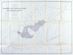 Chestnut Hill Iron Ore Banks Lancaster County Pennsylvania Antique Map 1880