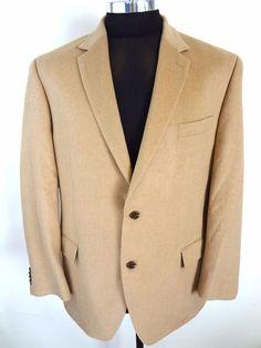 Get it for less! Michael Kors Camel Hair Sport Coat 44R