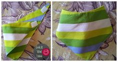 How to make a Baby Bandana Bib From Scratch
