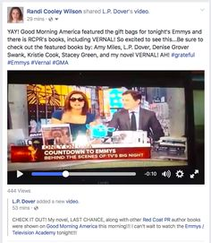 Vernal was featured on Good Morning America today! YAY! Happy Dance.