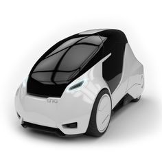 Uniti is an electric city car that combines holistic sustainability, a futuristic user experience and is developed in an open source manner. Small Electric Cars, Electric Car Concept, Urban Electric, Subaru, Volkswagen, Audi, Microcar, Reverse Trike, Futuristic Cars
