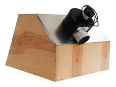 DIY Spray Booth Mounted Blower For Bootom Exhaust