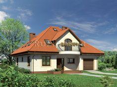 Проект одноэтажного дома с мансардой и гаражем в Красноярске