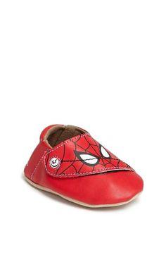 Stride Rite 'Spider-Man®' Crib Shoe (Baby Boys) | Nordstrom
