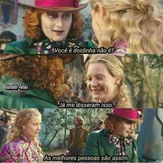 """All the best people are crazy "" Melanie martines Tumblr Love, I Can Do It, Sad Girl, Through The Looking Glass, Disney And Dreamworks, Tim Burton, Johnny Depp, Movie Quotes, Movies And Tv Shows"