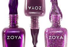 Purple nail Polish by Zoya is the longest wearing natural nail polish available. Zoya makes the best purple nail polish colors in matte, cream, metallic and glitter nail polish finishes. Natural Nail Polish, Purple Nail Polish, Zoya Nail Polish, Glitter Nail Polish, Nail Polish Colors, Natural Nails, Nail Polishes, Shellac, Mani Pedi