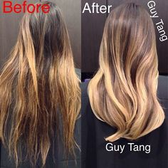 #balayage #ombre #make-over by Guy Tang