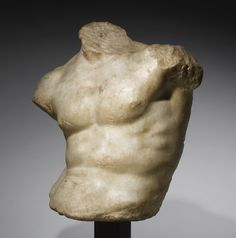 a marble relief tors Roman Sculpture, Stone Sculpture, Sculpture Clay, Ancient Greek Sculpture, Ancient Greek Art, Traditional Sculptures, Art Of Man, Male Torso, Art Sketchbook