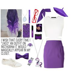 Rarity Fangirl by frizzleliz on Polyvore featuring BCBGMAXAZRIA, T By Alexander Wang, Wet Seal, My Little Pony, Akribos XXIV, Little Girl Granny Sheep, ZuZu Kim, NARS Cosmetics, Wet n Wild and Bare Escentuals