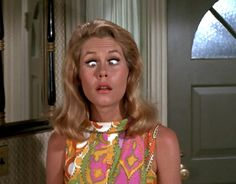 Elizabeth Montgomery! She reminds me of my mom. Both are incredibly sweet and charming. I used to watch Bewitched religiously at my grandparents' house. I even learned how to do the lip twitch!