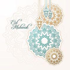 Flat design happy eid mubarak lanterns and decorations Photo Eid Mubarak, Carte Eid Mubarak, Eid Mubarak Wünsche, Happy Ied Mubarak, Images Eid Mubarak, Eid Mubarak Vector, Eid Mubarak Wishes, Eid Mubarak Greeting Cards, Eid Mubarak Greetings
