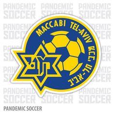 Maccabi Tel Aviv Israel Vinyl Sticker Decal