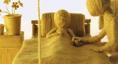 Un videoclip hecho con lana