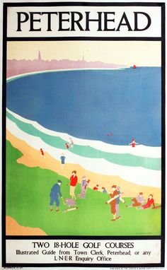 SCOTLAND Peterhead, Railway Posters6