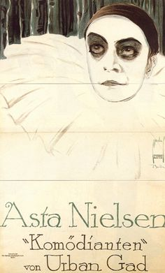Ernst Deutsch (Dryden), Film Poster for 'Asta Nielsen,' circa 1913.  via