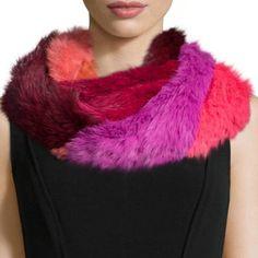 Jocelyn Accessories - Jocelyn fur infinity scarf Écharpe Tube, Fourrure De  Lapin, Bergdorf Goodman 93317b8a28a