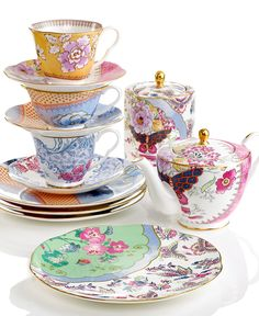 Wedgewood - Butterfly Bloom Collection.....beautiful for afternoon tea with my girlfriends