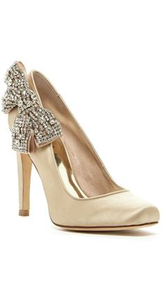 Crystal Bow Satin Pumps ~ You Can Do It 2. http://www.zazzle.com/posters?rf=238594074174686702