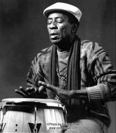 """A founding member and musical director of """"Los Munequitos de Matanzas,"""" Gregorio was a percussionist specializing in the tumba (deep-voiced drum). With that group he recorded several albums, playing percussion and drums, Famous Musicians, Jazz Musicians, Jazz Artists, Music Artists, Salsa Music, Afro Cuban, Drum Lessons, Latin Music, African"""