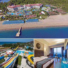 Nashira Resort Hotel misafirlerine Antalya Side'de deniz, göl, nehir ve orman dörtlemesiyle farklı bir tatil sunuyor. :)